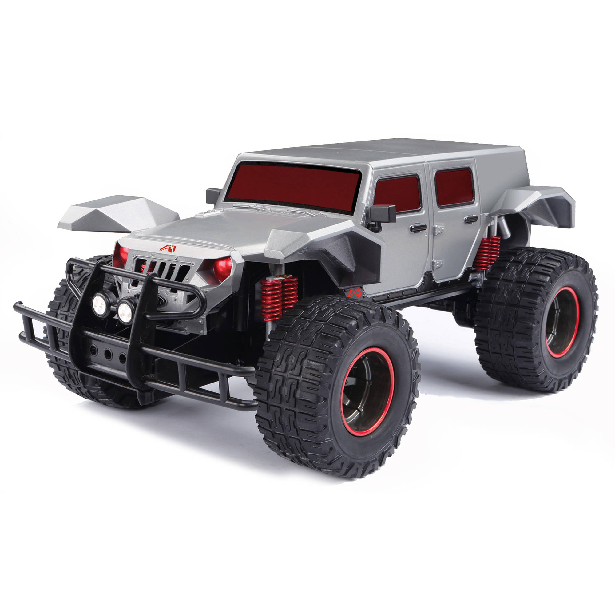 New Bright 1:10 Scale R/C Fab Fours Legends Truck, Silver