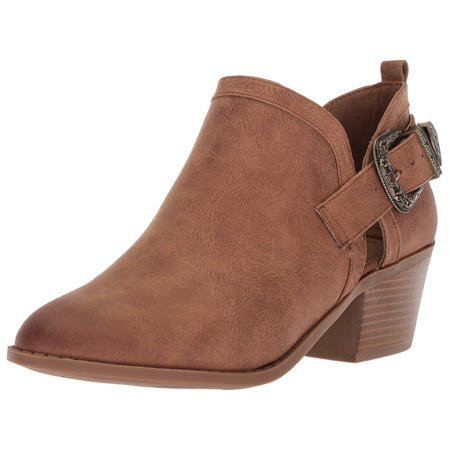 Fergalicious Womens Battle Fabric Closed Toe Ankle Fashion Boots