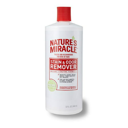 Nature's Miracle Spray Pet Stain and Odor Remover Enzymatic Formula 32 Oz