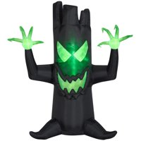 Gemmy Industries Yard Inflatables Haunted Tree, 7 ft