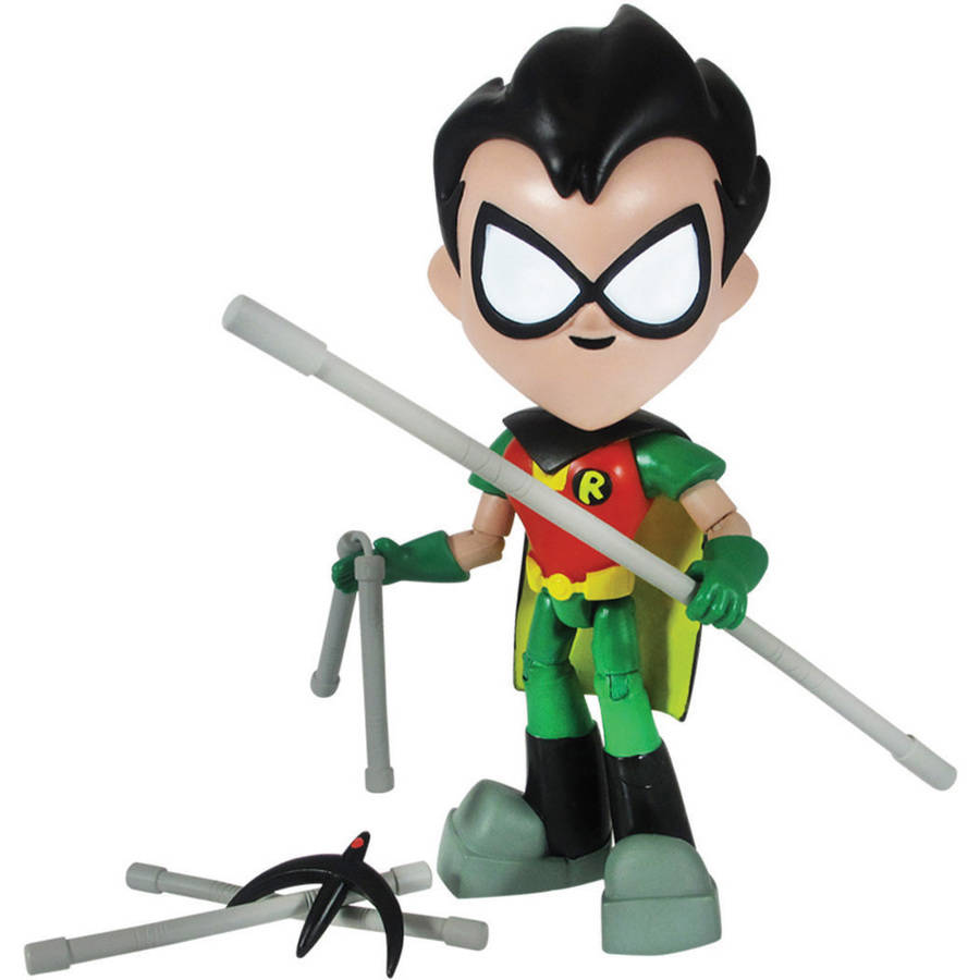 "Teen Titans Go 8"" Robin Action Figure Karate Version by Jazwares, Inc."