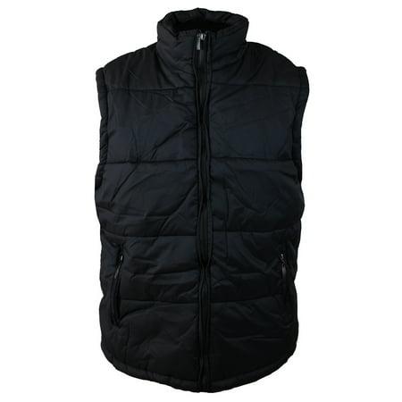 Maximos Men's Water Resistant Zip Up Puffer Outdoor Vest (Mens Puffer Vest)
