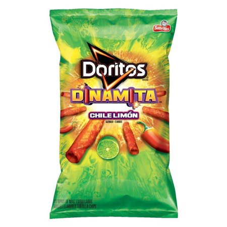 Doritos Dinamita Chile Limon Rolled Flavored Tortilla Chips 9 25 Oz Bag