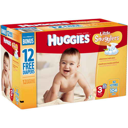 Huggies Little Snugglers diapers are specially designed for gentle skin protection. With features like the pocketed-back waistband and GentleAbsorb liner that contain and draw the mess away, Little Snugglers help keep your baby's delicate skin clean and healthy/5(K).