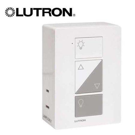 lutron caseta wireless 300 watt 100 watt plug in lamp dimmer pd 3pcl wh. Black Bedroom Furniture Sets. Home Design Ideas