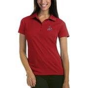 St. Louis Cardinals Antigua Women's Pique Xtra-Lite Polo - Red