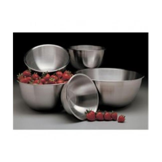Focus Foodservice 874 12 qt.  stainless steel mixing bowl - Pack of 4