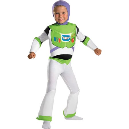 Toy Story Buzz Lightyear Deluxe Child Halloween Costume](Biker Halloween Costume)