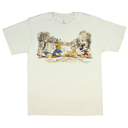 Disneyland Disney World Main Street USA Classic Character Men's T-Shirt](Disney Mens Shirts)