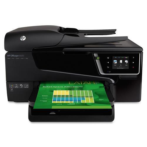 HP Officejet 6600 Premium Inkjet Multifunction Printer/Copier/Scanner/Fax Machine