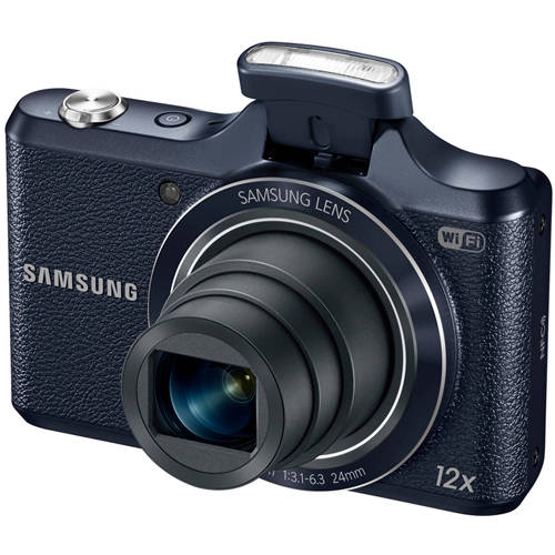Samsung Dark Blue WB50F Smart Digital Camera with 16.2 Megapixels and 12x Optical Zoom
