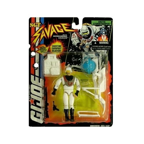 G.I. Joe: Sgt. Savage Arctic Stormtrooper Action Figure