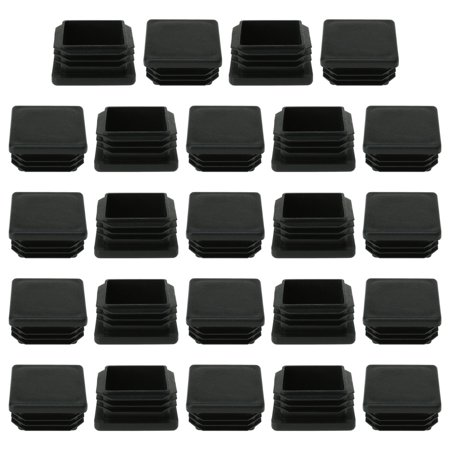 """Square Tube Insert Furniture Floor Protector for 1.38"""" to 1.46"""" Inner Size 24pcs - image 7 of 7"""