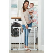 Regalo Easy Step® 38.5-Inch Extra Wide Walk Thru Baby Gate, Includes 6-Inch Extension Kit, 4 Pack Pressure Mount Kit, 4 Pack Wall Cups and Mounting Kit