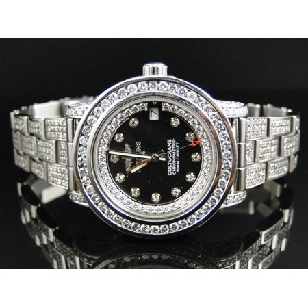 Breitling Custom Ladies Breitling Aeromarine Colt 33 Diamond Watch Custom New Ladies Breitling Aeromarine Colt 33 Diamond Watch A77387 13.5 Ct
