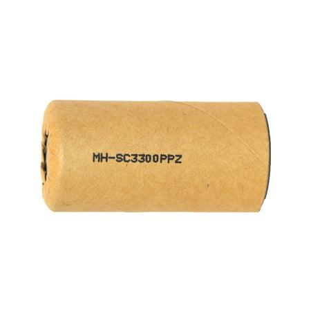 Sub C 3300 mAh NiMH Battery (Paper Wrapped) - image 1 de 1