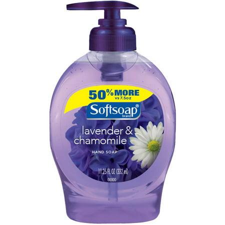 Softsoap Lavender & Chamomile Liquid Hand Soap, 11.25 fl oz - Walmart ...
