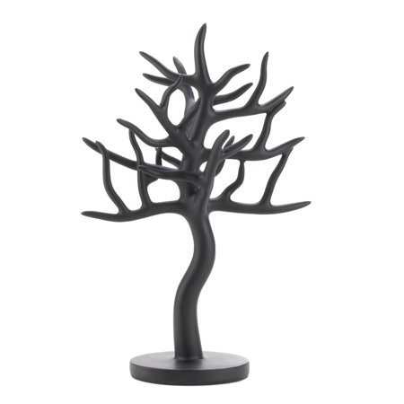 Jewelry Tree Organizer Necklaces Earring Display Black