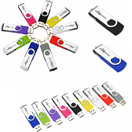 Bestrunner 128MB USB 2.0 Flash Memory Drives Storage U Disk Pen Stick Foldable Christmas (Best Runners Of All Time)