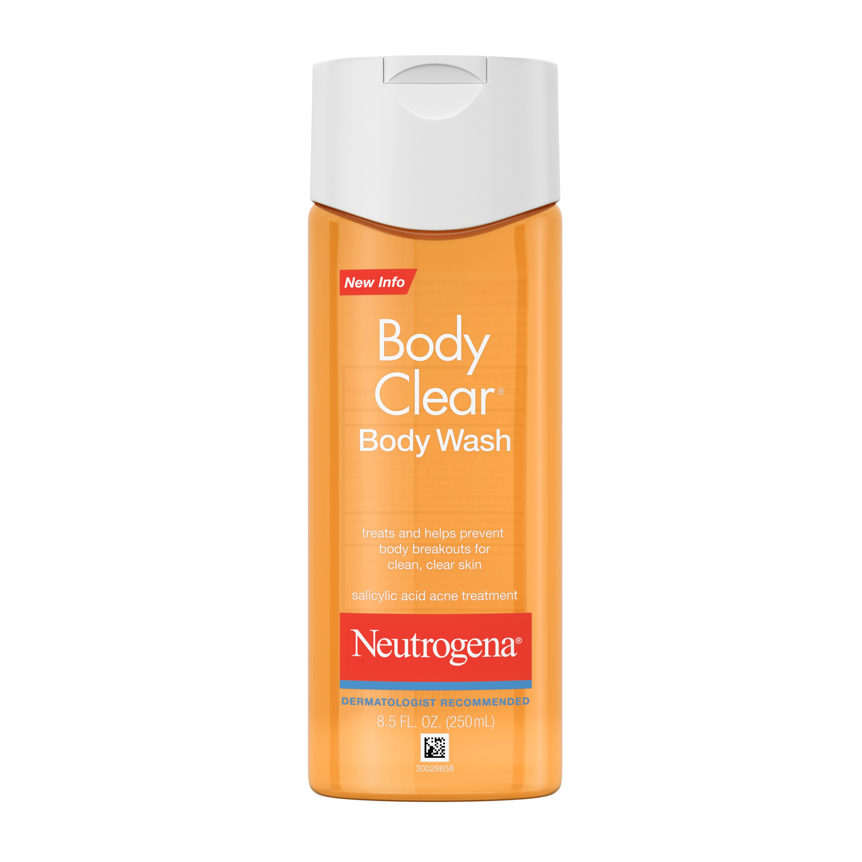 Neutrogena Body Clear Acne Body Wash With Glycerin 8 5 Fl Oz