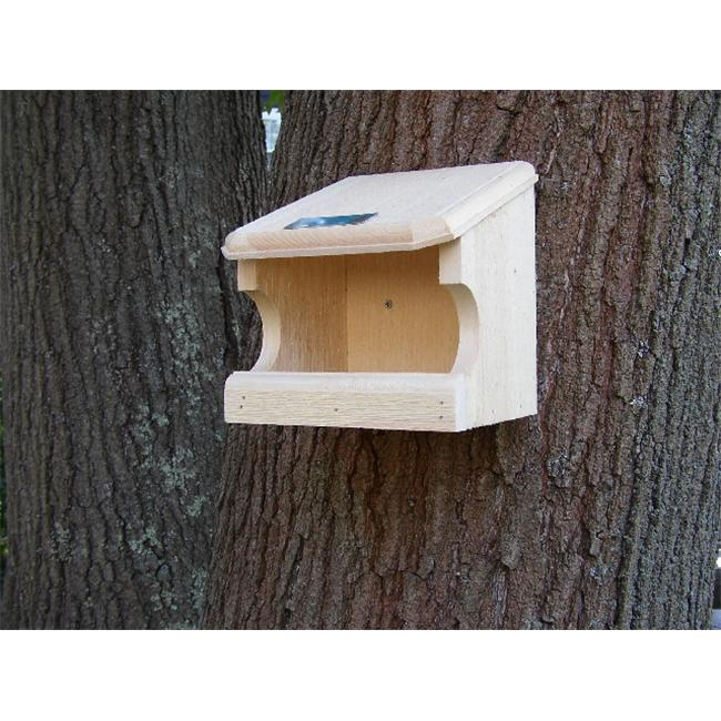 Coveside 10030 9. 25'' Nesting Perch Birdhouse - White Pine