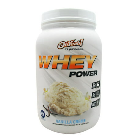 ISS Research Oh Yeah! Whey Power Vanilla Creme - Gluten Free Iss Protein Wafer