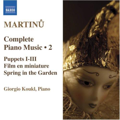 B. Martinu - Martinu: Complete Piano Music, Vol. 2 [CD]
