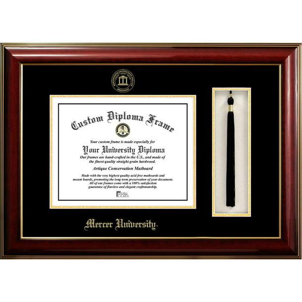 Ocm Diploma Frame Mercer University Bear Displays Diploma Certificate 8 5 X 11 Walmart Com Walmart Com