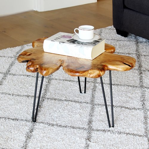 Union Rustic Batotana Unique Coffee Table Walmart Com