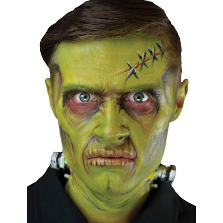 Monster Complete 3D FX Makeup Adult Halloween Accessory (Fx Contact Lenses Halloween)