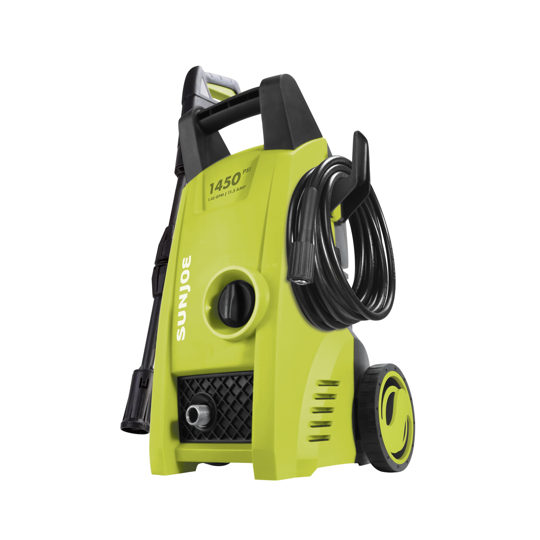 Sun Joe SPX1000 Electric Pressure Washer   1450 PSI   1.45 GPM   11.5-Amp