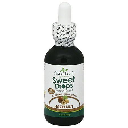 (SweetLeaf Sweet Drops Hazelnut Sweetener, 2 fl oz (Pack of 3))