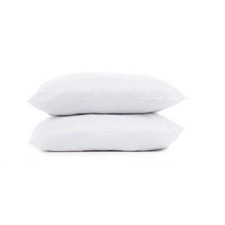 - 2 Pack of Park Avenue Collection Standard Feather & Down Pillows
