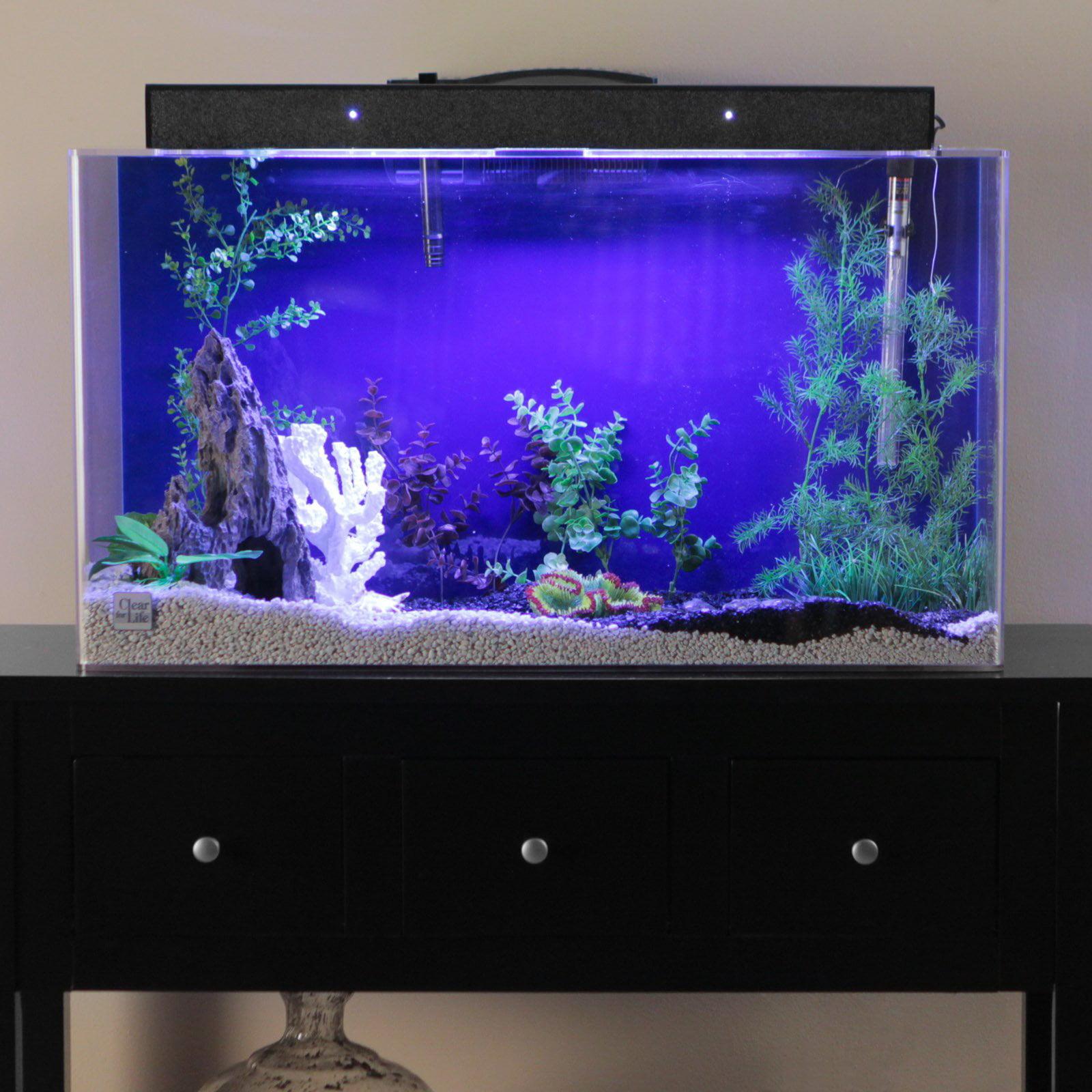 Clear For Life Rectangle Aquarium