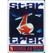 AMT 666 1:650 Star Trek Romulan Bird-of-Prey Plastic Model Kit