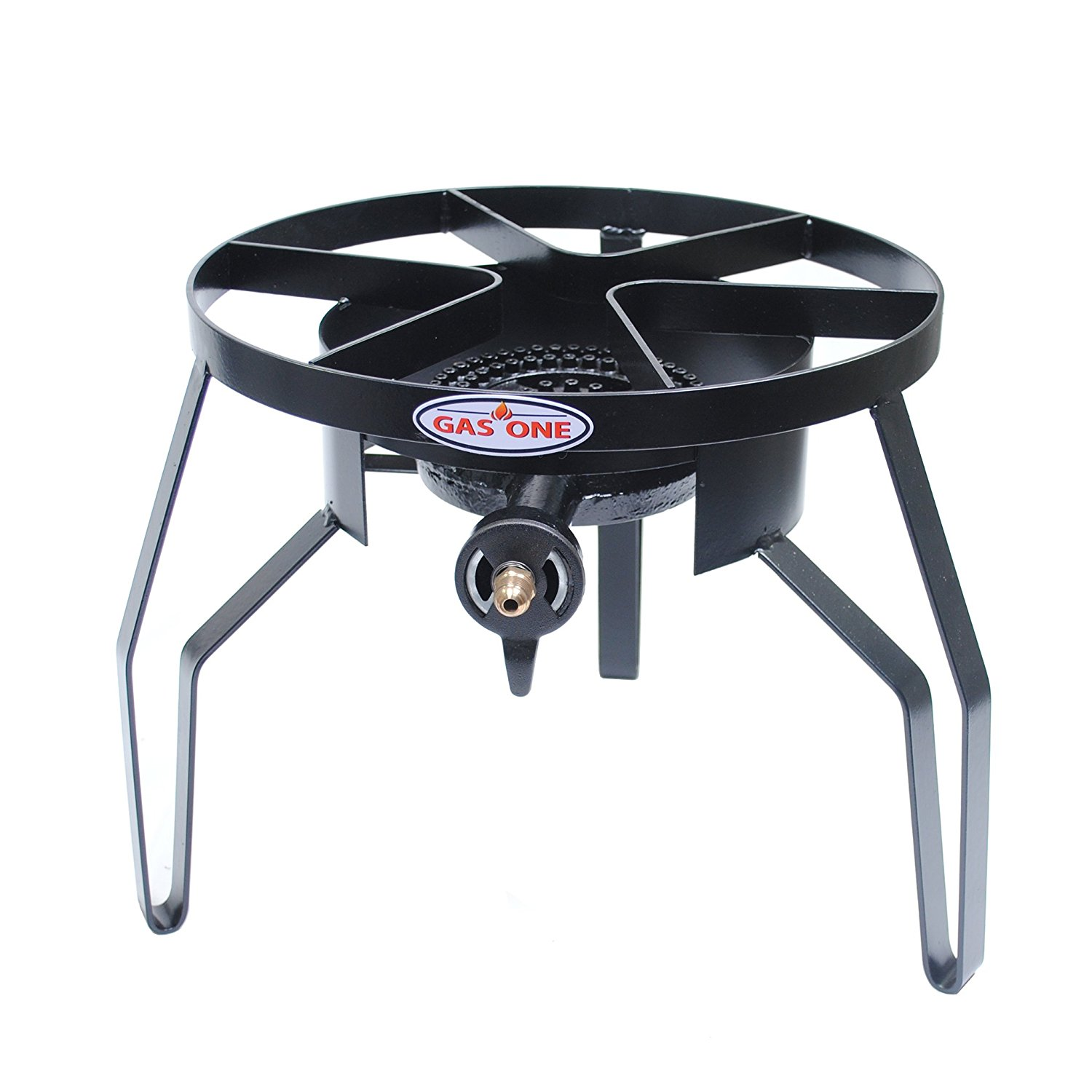 GAS ONE 60,000 BTU High-Pressure Single Burner Outdoor Stove Propane Gas Cooker with
