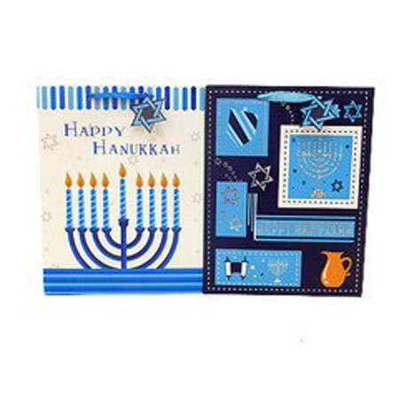 Alef Hanukkah Candles Paper Gift Bag - Paper Bags For Candles