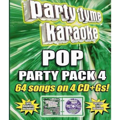 Party Tyme Karaoke - Girl Pop Party Pack 4