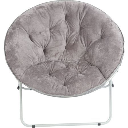 Mainstays Oversize Saucer Chair Multiple Patterns