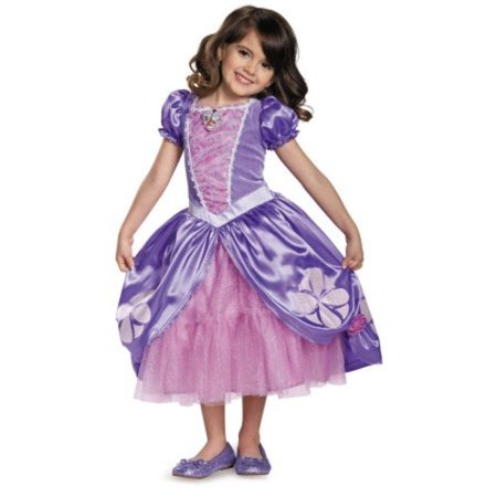Sofia the First Sofia The Next Chapter Deluxe Toddler Halloween Costume - 24 Month Old Halloween Costumes