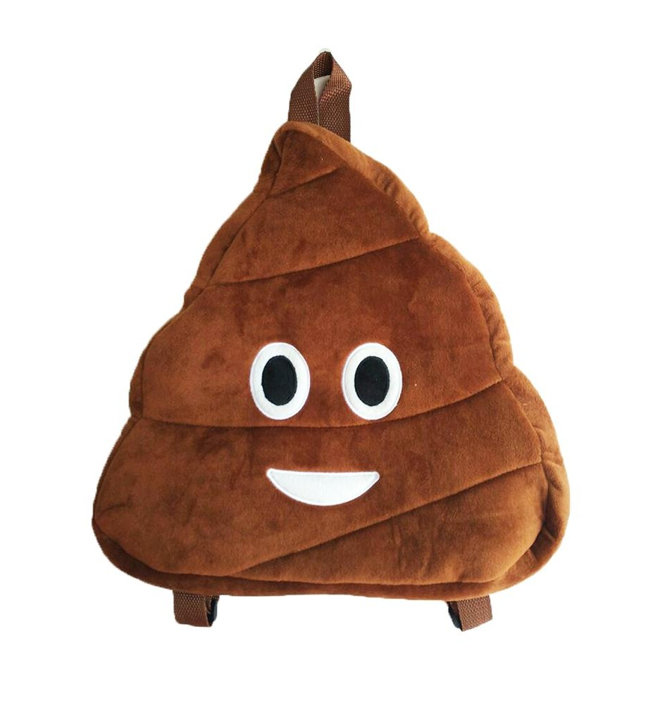 Poop Emoji Backpack