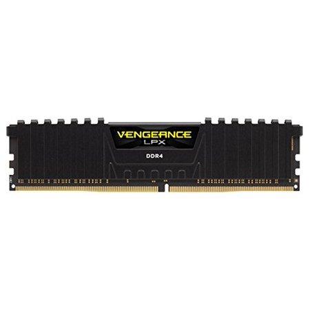 6400 Sdram Dimm Memory (Corsair Vengeance Lpx 8gb [2x4gb] Ddr4 Dram 2666mhz C16 Memory Kit - Black - 8 Gb [2 X 4 Gb] - Ddr4 Sdram - 2666 Mhz Ddr4-2666/pc4-21300 - 1.20 V - Unbuffered - 288-pin - Dimm (cmk8gx4m2a2666c16))