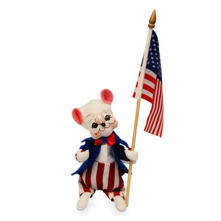 Annalee - Patriotic Boy Mouse 6