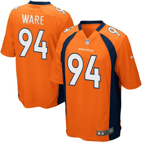quality design 558f5 ca46b DeMarcus Ware Denver Broncos Nike Youth Team Color Game Jersey - Orange
