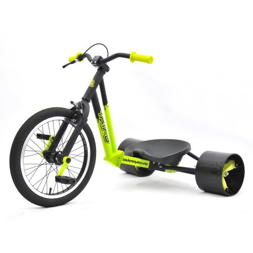 Triad 71081 Counter Measure Drift Trike - Neon Yellow & Black