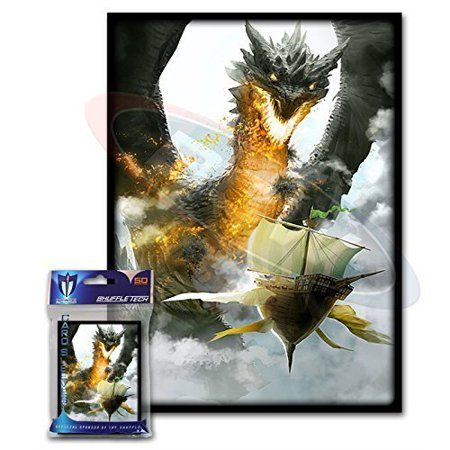 Trading Card Set Sleeves - (50) Ambush Design Large Gaming Trading Card Protector Sleeves for Magic the Gathering, Pokemon, World of Warcraft, Kaijudo Duel Masters and.., By Max Protection