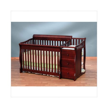 Bundle 74 Sorelle Tuscany 4 In 1 Convertible Crib Combo In