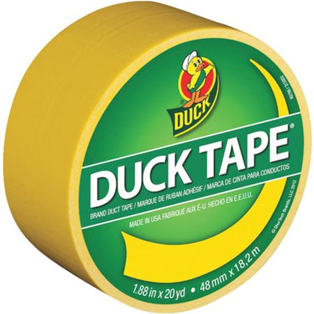 Duck Colored Duct Tape, 9 mil, 1.88