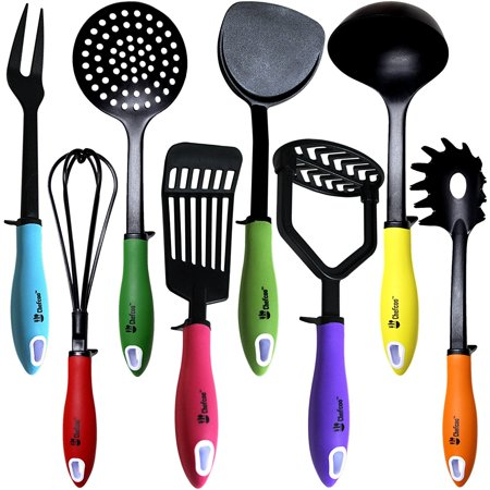 Kitchen Utensils Cooking Set by Chefcoo™ Includes 8 Pieces Non ...