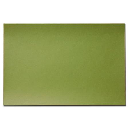 Mustard Green 25.5 x 17.25 Blotter Paper Pack